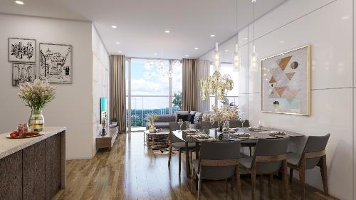 Ngoài vị trí đắc địa, chủ đầu tư Xuân Mai Corp còn mang tới tiêu chuẩn sống mới cho cư dân tại đây nhờ thiết kế căn hộ với diện tích diện tích linh hoạt từ 50-95m2, bố trí một đến 3 phòng ngủ - đáp ứng đa dạng nhu cầu của khách hàng.