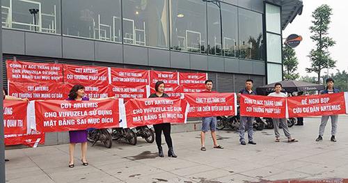 Những tranh chấp ở các chung cư Hà Nội được quảng cáo 'cao cấp'