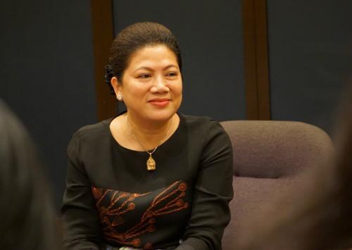 Bà Đỗ Thị Kim Liên quay lại ngành bảo hiểm