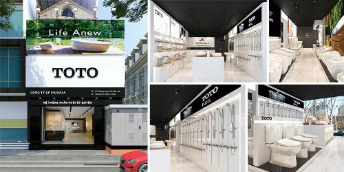 TOTO Kidoasa khai trương trung tâm công nghệ và dịch vụ khách hàng tại Hà Nội