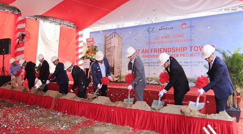Coteccons khởi công dự án tòa nhà hữu nghị Slovakia - Việt Nam