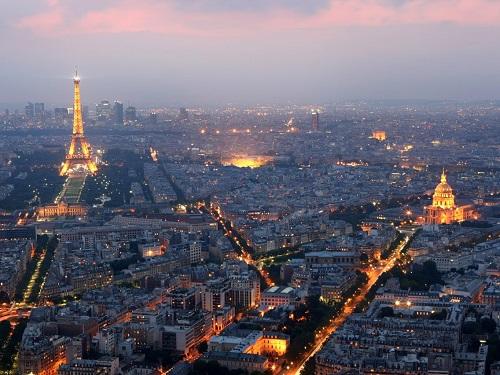 Thành phố Paris, Pháp. Ảnh: Mike Hewitt/Getty Images