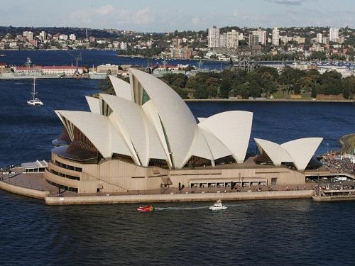 Nhà hát Cánh Buồm tại Sydney, Australia. Ảnh:  Gaye Gerard/Getty Images