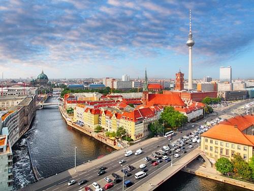 Thành phố Berline, Đức. Ảnh:Shutterstock
