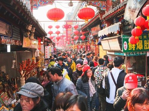 Thành phố Bắc Kinh, Trung Quốc. Ảnh:Sittirak Jadlit/Shutterstock