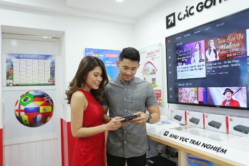 Chỉ với 390.000 đồng, khách hàng có thể sở hữu đầu thu DTH hoặc bộ K+ TV Box