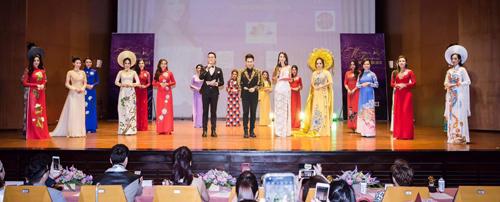 Nằm trong chương trình giao lưu văn hoá và hợp tác thương mại giao thương, kết nối doanh nhân Việt Nam - Đài Loan, Công ty TBSM Entertainment phối hợp với Tập đoàn Sơn Bản Đường tổ chức cuộc thi Hoa hậu Việt Nam toàn thế giới tại nhà hát Women Center - TP Đào Viên - Đài Loan.