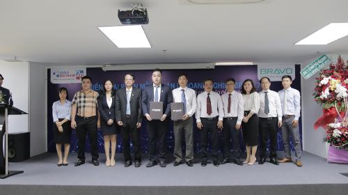 Tân Á Đại Thành triển khai phần mềm quản trị doanh nghiệp Bravo 7 - 2