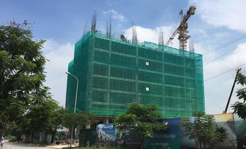 Một dự án nhà ở xã hội đang được mở bán tại Hà Nội. Ảnh: CĐT
