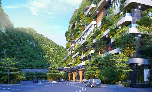 Phong cách kiến trúc xanh tại các dự án nghỉ dưỡng của Flamingo