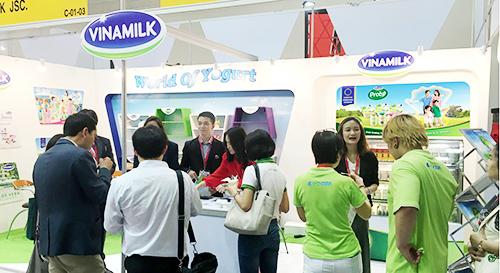 Vinamilk đẩy mạnh thâm nhập thị trường Trung Quốc