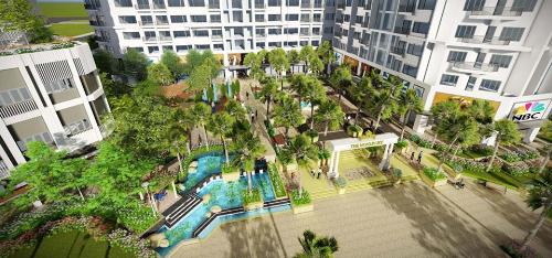 Dự án nghỉ dưỡng Monarchy ra mắt căn hộ sân vườn