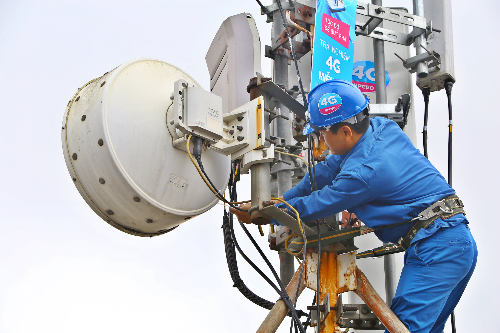 Chất lượng mạng 3G/4G của VinaPhone vượt chuẩn Việt Nam