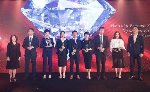Bà Nguyễn Thị Liên Dung - Chủ tịch HĐQT Titan Group tại sự kiện đào tạo của Sun Group.