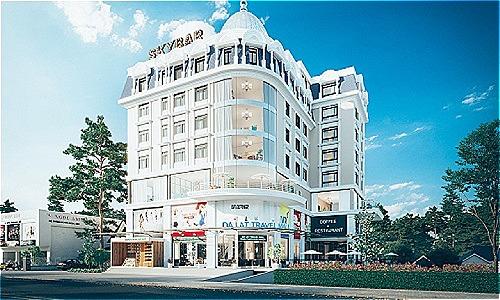 Phối cảnh trung tâm thương mại, mua sắm và ẩm thực Đà Lạt Travel Mall, dự kiến đi vào hoạt động vào quý II/2019.