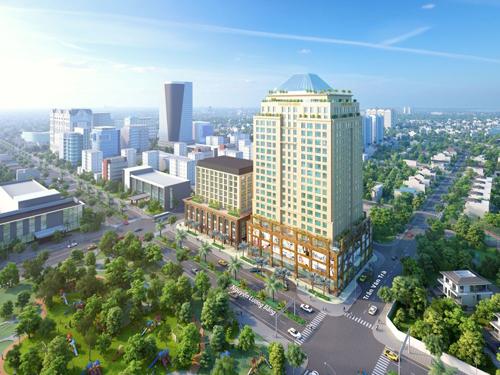 Officetel Golden King thu hút nhờ vị thế ba mặt tiền đường ở quận 7
