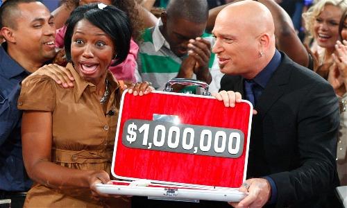 Tomorrow Rodriguezgiành được 1 triệu USD từ chương trình Deal or No Deal. Ảnh: CNBC