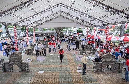 Xi măng INSEE chi 500 triệu đồng thưởng nhà thầu lành nghề