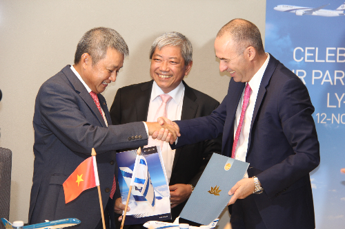Vietnam Airlines ký thỏa thuận liên danh với El Al Israel Airlines