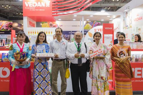 Vedan giới thiệu nhiều sản phẩm mới đặc sắc khi tham dự triển lãm Vietnam Foodexpo 2018.