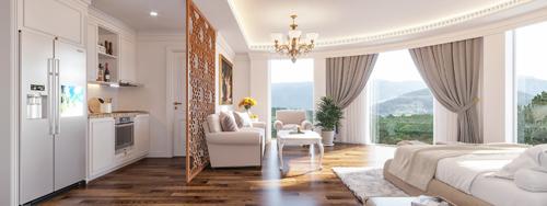 Đà Lạt có thêm 40 căn hộ khách sạn 3 sao giá từ 1,2 tỷ đồng