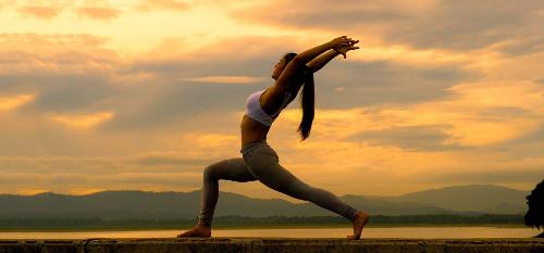 Chung cư cao cấp ở Hà Nội có sân tập yoga trên nóc nhà
