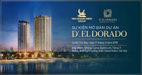 Tân Hoàng Minh chi tiền tỷ tặng quà khách mua nhà tại D'. El Dorado