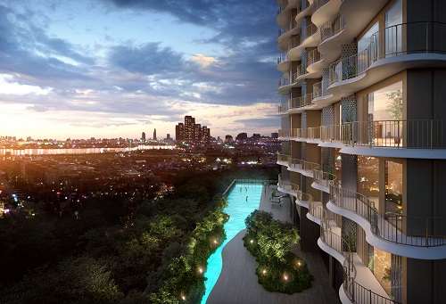 Waterina Suites ra mắt căn hộ mới Aura Sapphire Suites