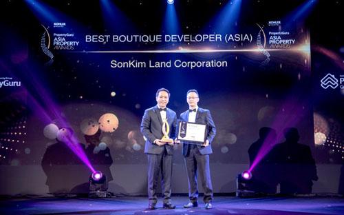 SonKim Land nhận giải thưởng Bất động sản châu Á 2018
