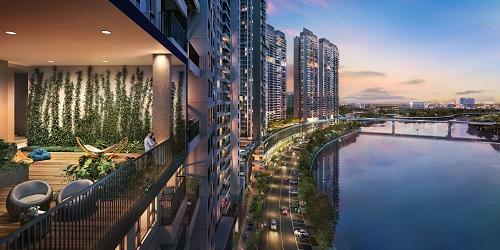 Không gian sống đẳng cấp bên sông của dự án The Infiniti