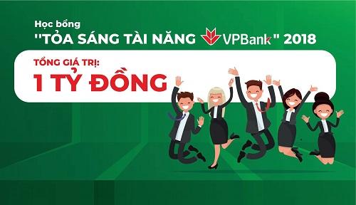 Không chỉ giá trị học bổng lớn mà các bạn sinh viên còn có cơ hội về việc làm tại VPBanksau khi ra trường.