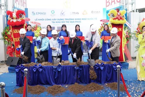 Khu đô thị Vạn Phúc khởi động dự án trường song ngữ quốc tế 350 tỷ đồng