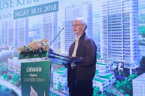 Lãnh đạo Hội quy hoạch: 'Bất động sản Long Biên nhiều tiềm năng'