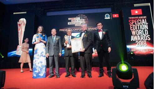 Ciputra Hanoi nhận giải 'Thương hiệu bất động sản xuất sắc thế giới'