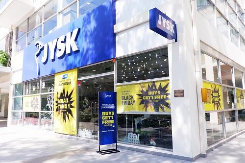 Nội thất Đan Mạch JYSK ưu đãi mua ba tặng một dịp Black Friday