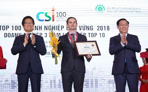 Heineken Việt Nam nhận giải doanh nghiệp bền vững nhất Việt Nam hai năm liên tiếp