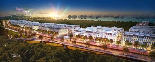 Shophouse kiến trúc châu Âu sắp ra mắt tại Hạ Long