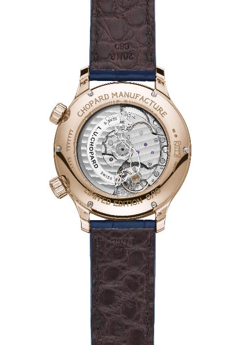 Chopard ra mắt 10 đồng hồ vàng hồng nguyên khối phiên bản Việt Nam