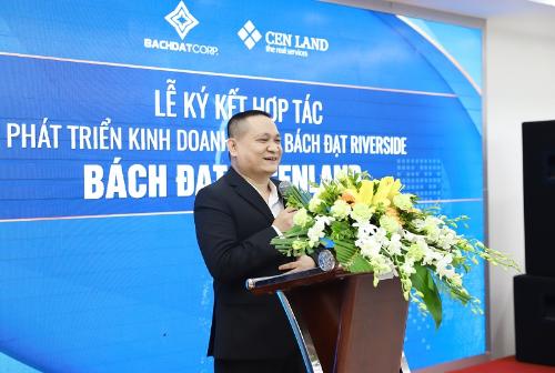 CenLand tham gia phát triển dự án Bách Đạt Riverside