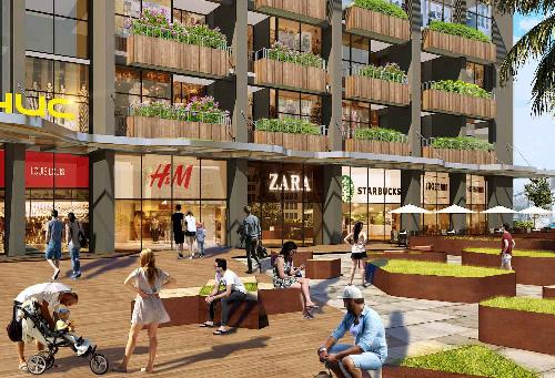 Mở bán dự án căn hộ 27 tầng trong khu đô thị Pandora
