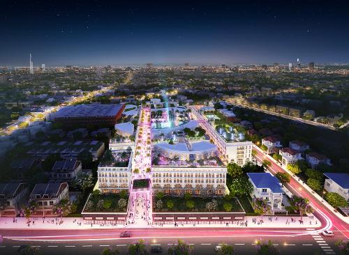 Tổ hợp thương mại 17.000m2 phong cách phố đi bộ tại Gò Vấp