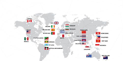 AIMS có mặt trên Toàn cầu