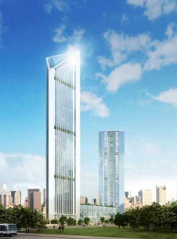 Phối cảnh dự án Tòa tháp trụ sở VietinBank. Ảnh: VietinBank