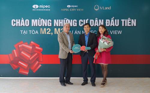 Mipec City View bàn giao những căn hộ đầu tiên cho cư dân (1)