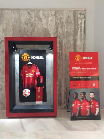 Mua thiết bị vệ sinh Kohler nhận quà Manchester United với ưu đãi đến 40%