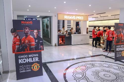 Nội thất Kohler ưu đãi lớn dịp thiết lập hợp tác với Manchester United
