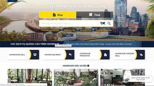 Chợ bất động sản online ngày càng sôi động
