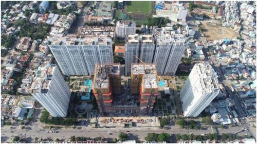 Quốc Cường Gia Lai đẩy nhanh tiến độ căn hộ hạng sang Central Premium