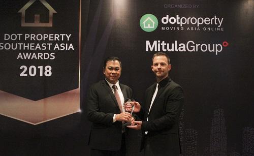 CityLand giành giải thưởng bất động sản khu vực Đông Nam Á