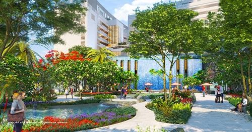Đô thị xanh từ quy hoạch đến vật liệu tại Phú Mỹ Hưng